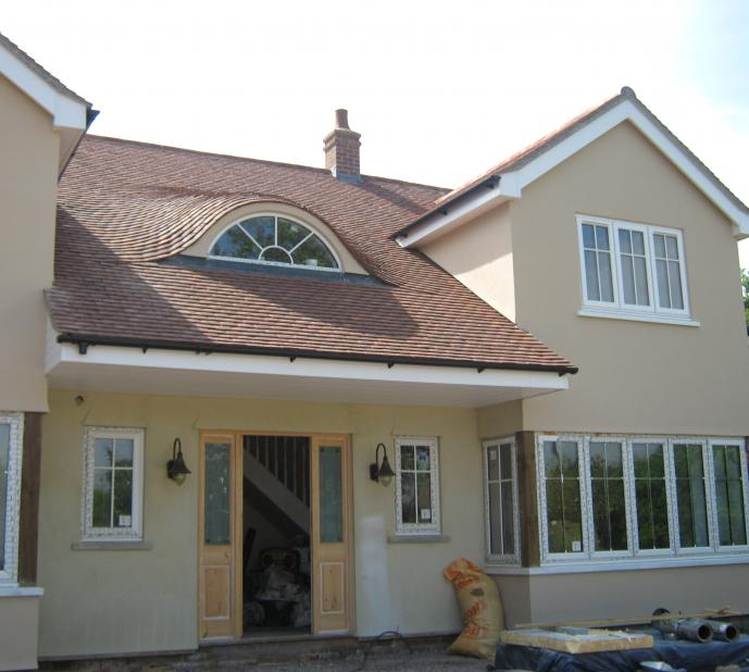 Executive style large house extension.
